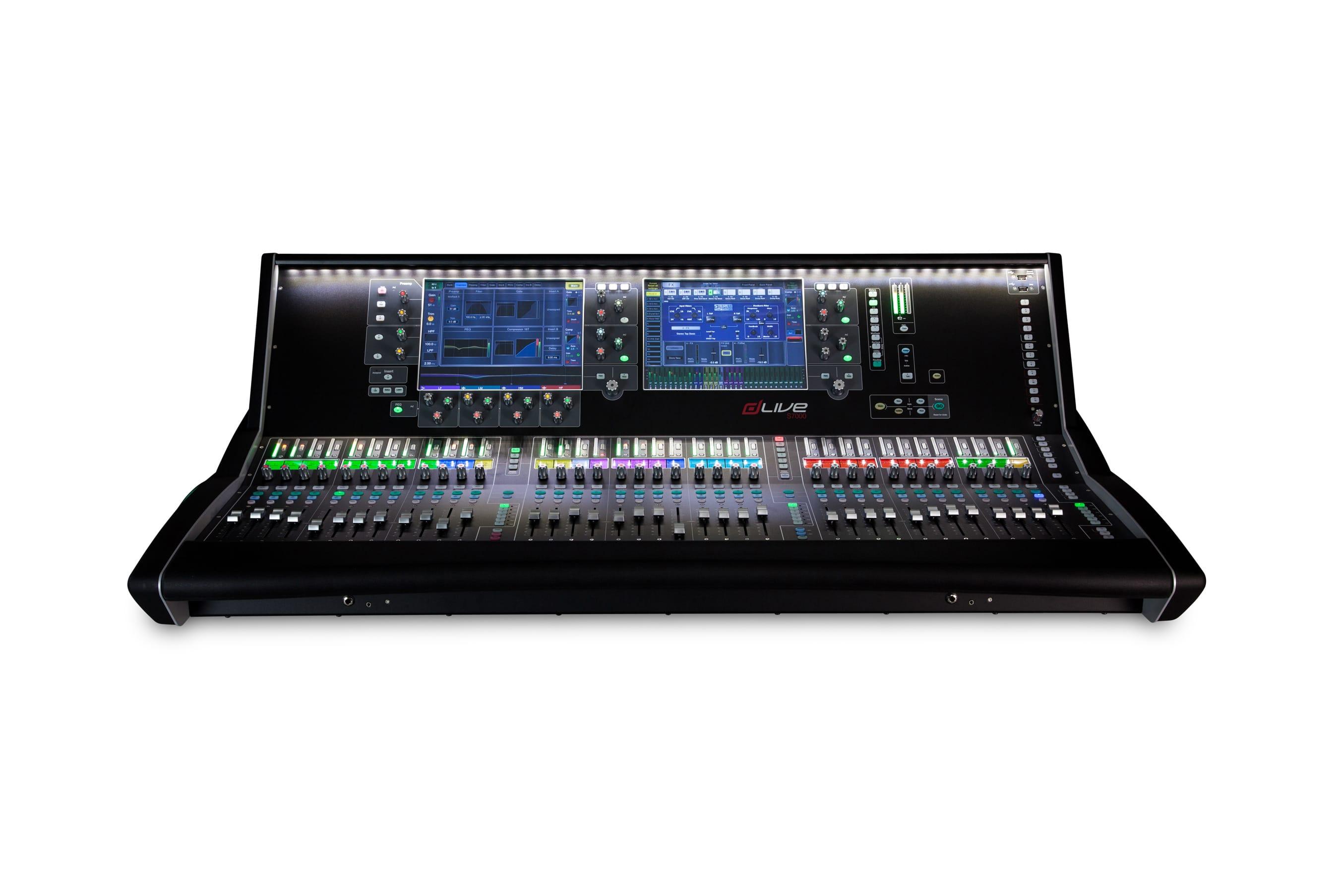 Allen Amp Heath Dlive S7000 Digital Mixer