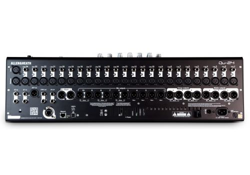 Allen and Heath QU Series 24-Ch Digital Mixer for Live, Studio, and Installation