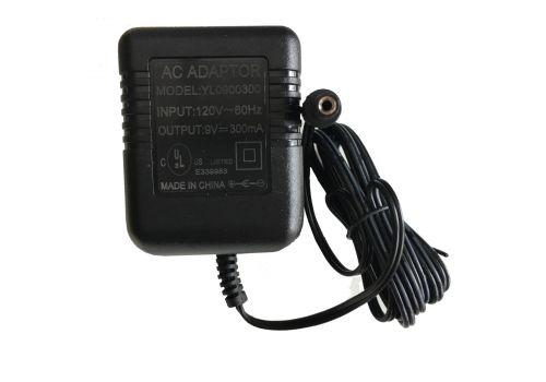 9V AC adaptor Model YL0900300