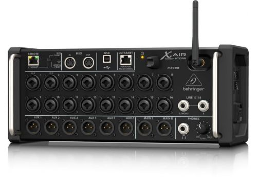XR18, 18 Channel Digital Mixer From Behringer XR18
